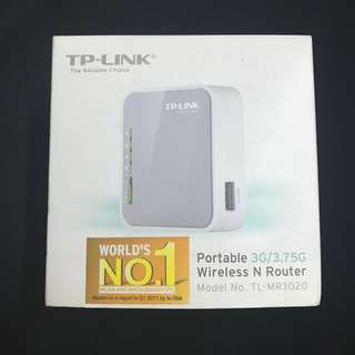TP-LINK Portable Wireless N Router
