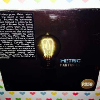 Metric 	-	Fantasies	(Sealed)