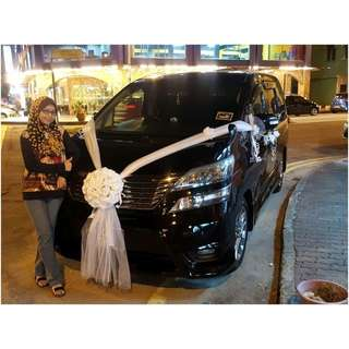Toyota Toyota Vellfire for rental ( selfdrive in MY)
