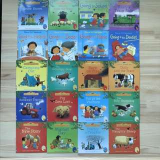 Ursborne farmyards children book