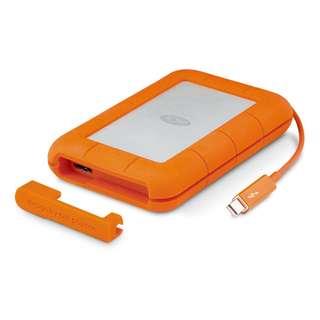 LACIE Rugged Thunderbolt USB 3.0 2TB Portable Hard Drive (LAC9000489) (BNIB)