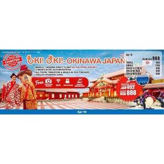 Oki Okinawa Japan Promo package!