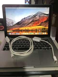 """【送Microsoft+HDMI+24""""mon】Macbook pro 13"""" 750GB i7"""