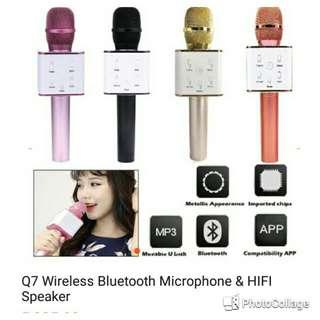 Bluetooth mic speaker