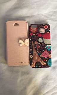 Iphone 5s Cases ($5 each or both for $8)