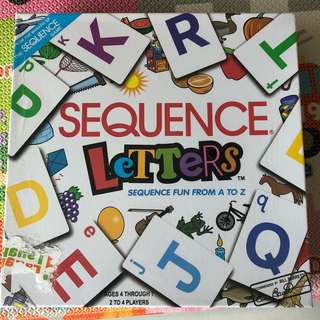 Bnib sequence letter game