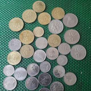 Some old Malaysia coins. $2 only