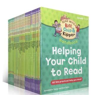*Ready Stock* Oxford Reading Tree Level 1-3