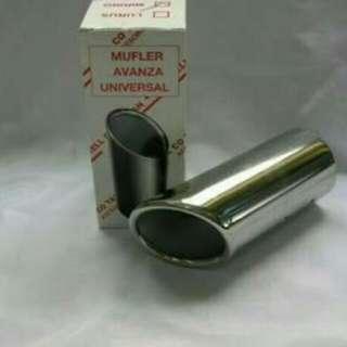 Muffler/buntut knalpot New Avanza/Xenia