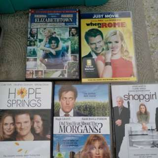 5 for $5! Dvd sale