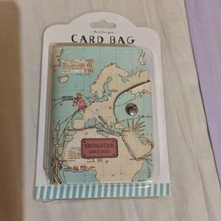 Navigation Print Card Holder