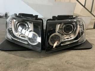 Land Rover Freelander 2 facelift led light