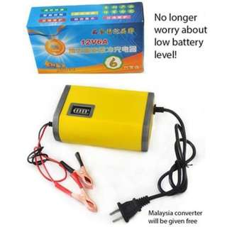 WI13/Y2*Sh 12V Car Or Motorbike Battery Charger