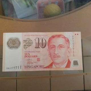 Nice No $10note.