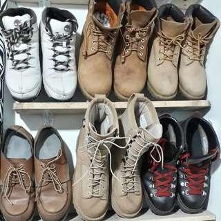 Jual sepatu boots original.
