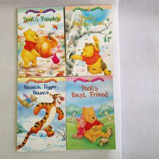 Winner the Pooh 英文故事書連VCD 共5套