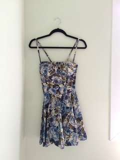 Floral dress (padded)