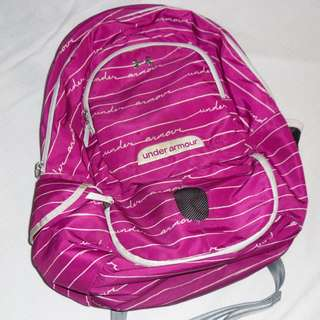 Charity Sale! Authentic Under Armour Backpack Pre-loved Pink