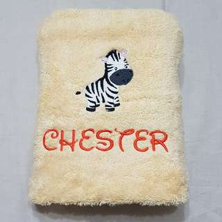 Luxury Personalised Bath Towel