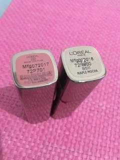 L'Oreal Lipstick Bundle