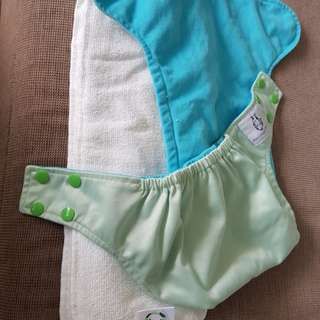 Moo moo kow large cloth diaper