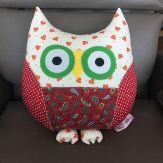 Handmade Owl Softtoy/Cushion