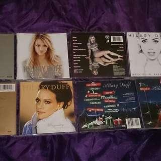 Hilary Duff cds