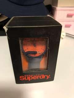 [絕版] SuperDry ScubaRescue手錶 盒小花 未用過 抽獎禮品