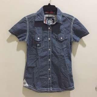 Coconut island jeans shirt