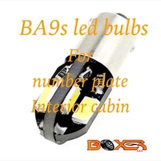 2 x Ba9s Led Bulbs