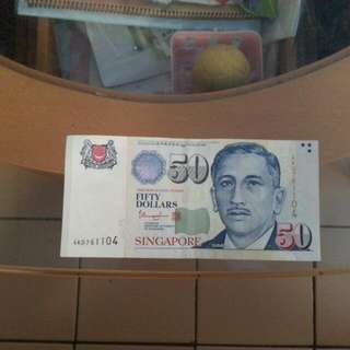 Shift Up $50 Note.