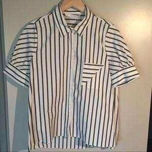 Zara short shirt