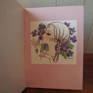 高橋真琴少女postcard明信片日本直送絕版20