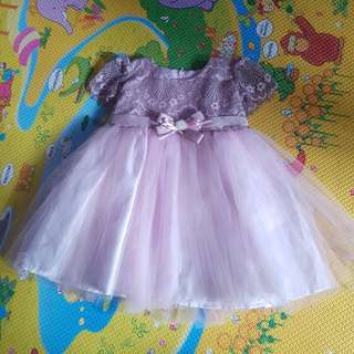 Princess party pink Dress