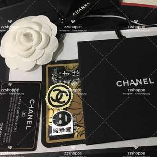 *NOTICE* Ran out of Chanel flower, will be giving 1 TAIWAN mask to each Chanel item purchased