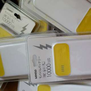 Miniso powerbank.10000mah.original