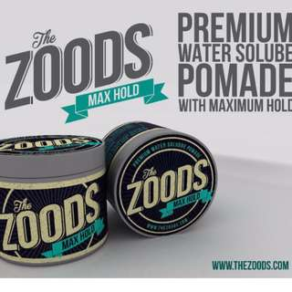 FREE FREE FREE DOORSTEP DELIVERY[THE ZOODS MAX HOLD POMADE 2.0]