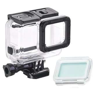 Hero 5,6 waterproof case with softtouch backdoor