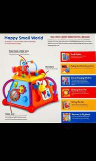 Brand new toy - Happy Small World (discounted price shown)!
