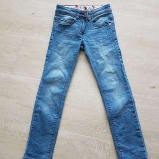 Denim jean for girl.size 7yrs.Good condition