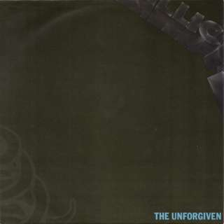 "Vg+ Metallica the unforgiven single record vinyl 7"" metal"