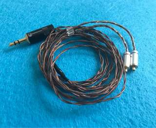5N fine crystal copper mmcx IEM upgrade cable