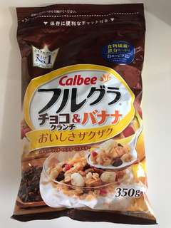CALBEE卡樂比麥片 巧克力香蕉 水果穀物