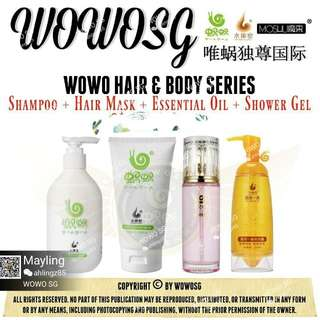 Wowo hair care series n shower gel