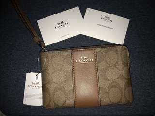 Coach Wristlet (Authentic)