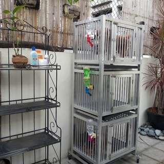 Aluminum cage 3 layer