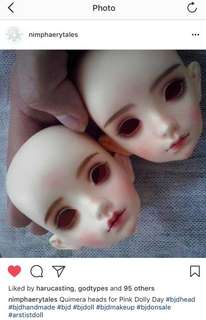 Nimphaery Tales Quimera BJD SD head (VOLKS PURESKIN)