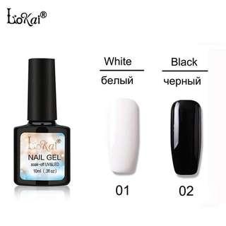 Nail Gel Color 10ml UV LED Soak Off