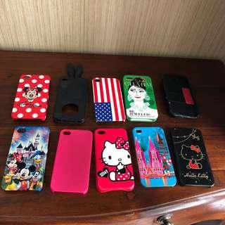 casing iphone 4 , 10 pcs