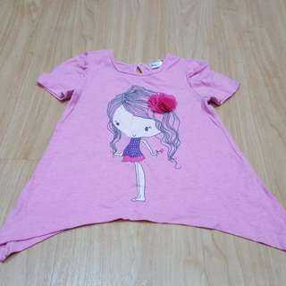 Cotton Top For Baby Girl/toddler